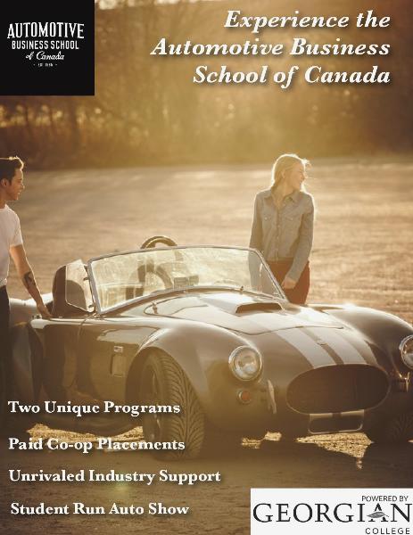 Automotive Business School of Canada Digital Brochure