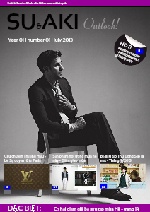 Thời Trang Nam Su & Aki Vol 01 Jul,2013