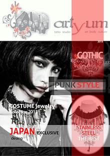 ARTYUM JEWEL GOTHIC PUNK