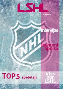 LSHL Latvijas Simulētā Hokeja Līga
