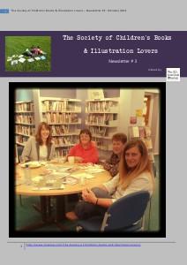 The Society of Children's Books & Illustration lovers Volume 3 October 2013