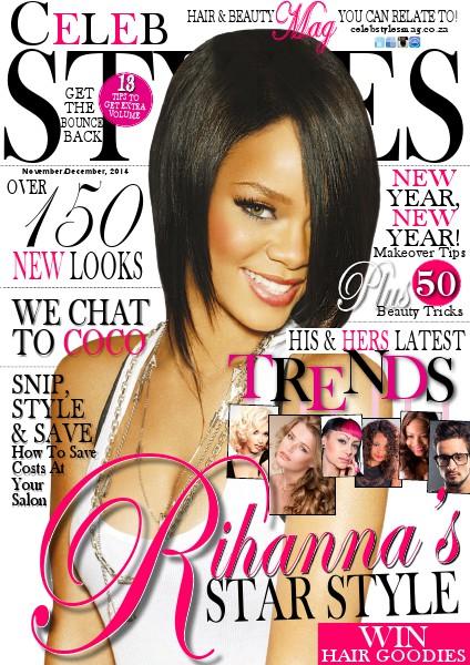 Celeb Styles magazine November/December, 2014