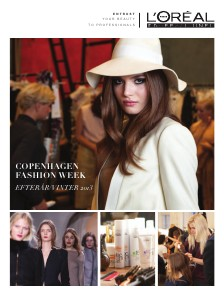 L'Oreal Professionnel CPH FW Newsletter Fall 2013