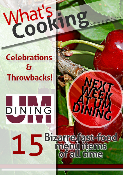 What's Cooking Aug 1, 2014