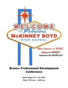 Boyd PD Program Aug 2013