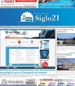 Siglo 21 Periódico Industrial 374
