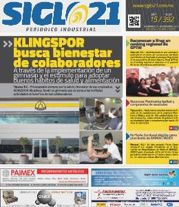 Siglo 21 Periódico Industrial 392