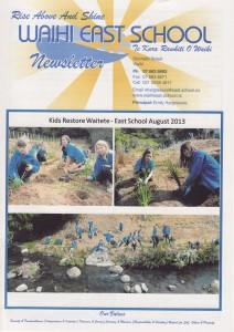 East School Newsletters term 3 2013. 11 September 2013.
