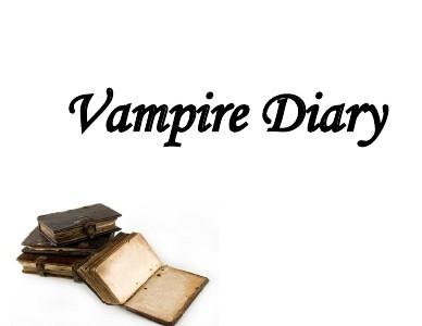 Vampire Diaries August 2013