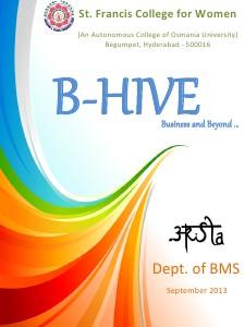 B-HIVE Sept 2013