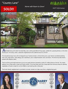 Sold Listings - Maple Ridge