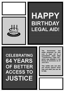 Happy Birthday Legal Aid!
