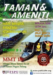 Buletin Taman Dan Ameniti, Sesi Mac-Julai 2013 Edisi Ke-2