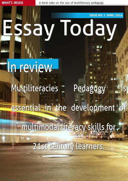 Essay Today April 2015
