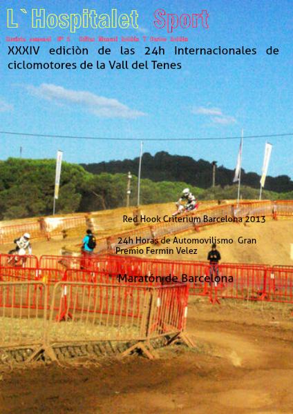 L'Hospitalet Sport Revista quincenal  Edita Manuel y Carlos Roldán