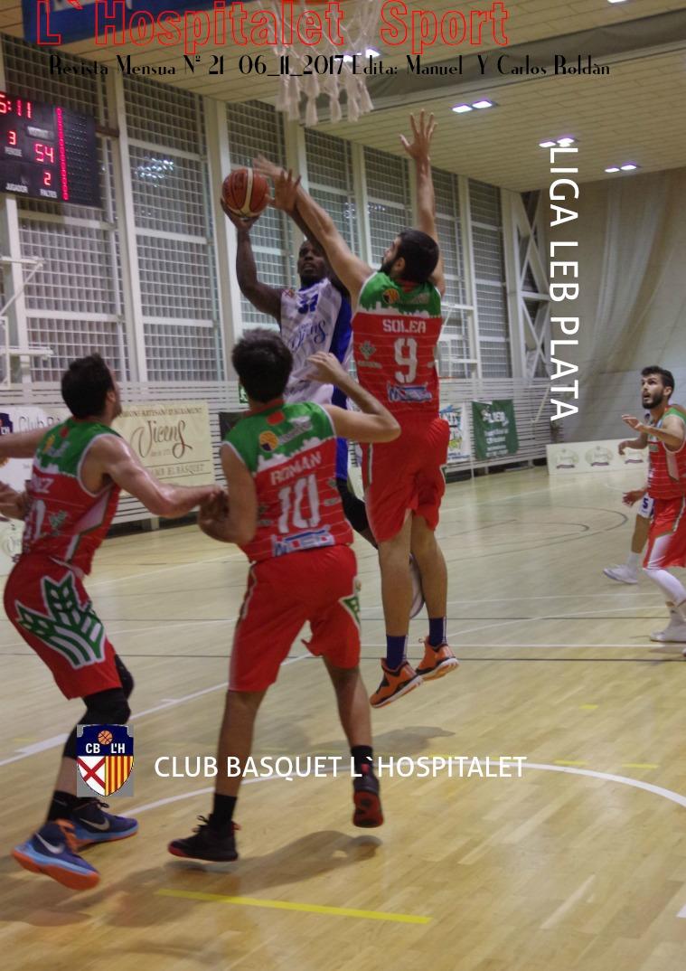 L'Hospitalet Sport Revista  Mensual  Edita Manuel y Carlos Roldán