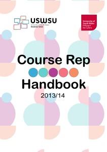 Course Rep Handbook 2013/14 1
