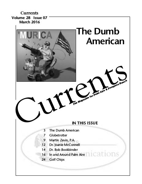 CURRENTS     March 2016 Currents March 2016