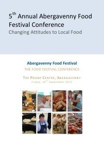 Abergavenny Food Conference 2011 Programme