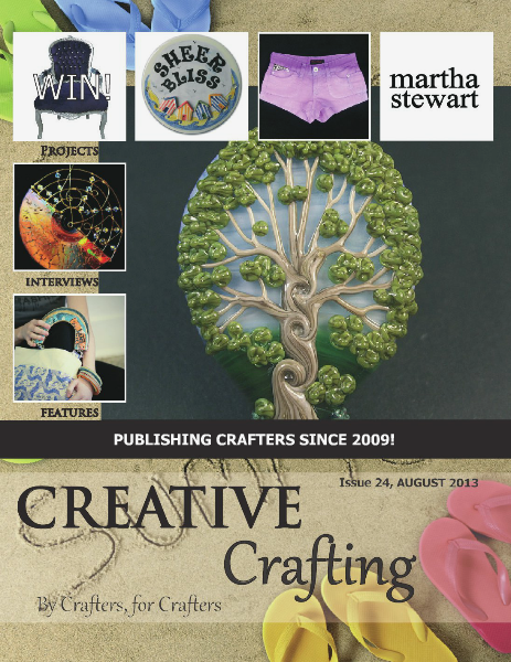 Creative Crafting Magazine August 2013