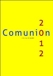 Comunion Revista Comunion nº 01 - 2012