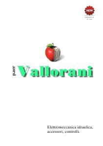 catalogo p.aer VALLORANI 2012 catalogo p.aer VALLORANI 2012