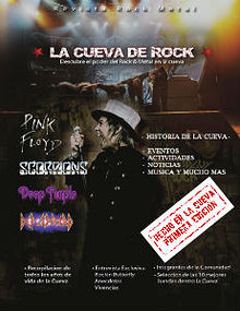 Cueva de rock Magazine