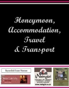 kzn honeymoon