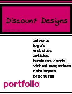 discount designs portfolio