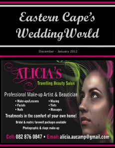 gww septoct 2011 Eastern Cape's Wedding World - Dec-Jan2012