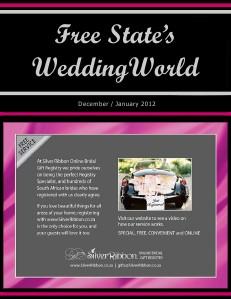 gww septoct 2011 Free State's Wedding World - Dec-Jan2012