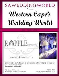 Western Cape\'s Wedding World