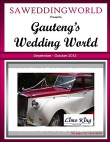 SA Wedding World_Sept_Oct_2012 Gauteng's Wedding World - Sept/Oct 2012