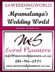 SA Wedding World_Sept_Oct_2012 Mpumalanga\'s Wedding World - Nov-Dec 2012