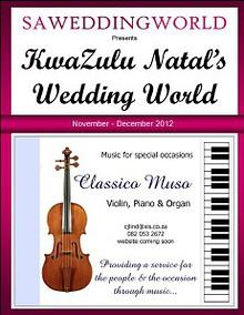 KZN's Wedding World - NovDec 2012