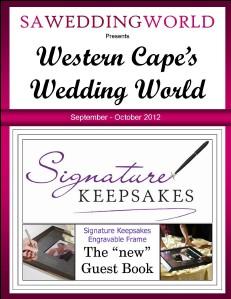 Western Cape's Wedding World Western Cape's Wedding World - Nov Dec 2012 Western Cape\'s Wedding World - Nov Dec 2012