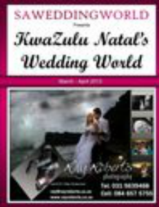SA WEDDING WORLD MARCH - APRIL 2013 KZN