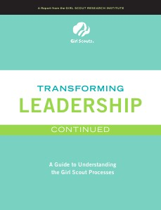 2012 Troop Cookie Manager Guide GSUSA Transforming Leadership Continured