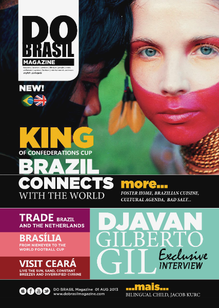 DO BRASIL Magazine AUGUST 2013