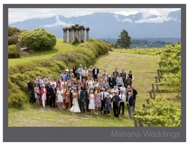 Mahana Weddings - August 2013