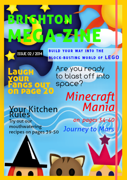 Brighton MEGA-zine Issue 2 August 2014