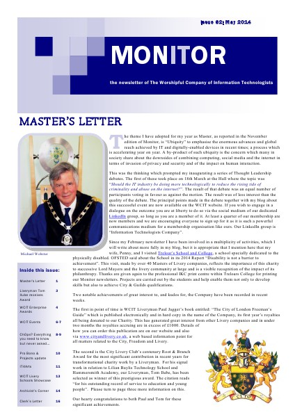WCIT MONITOR Issue 62 May 2014