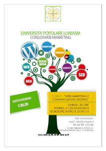 UNIASM Corso Web Marketing Viterbo
