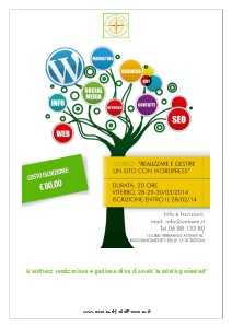 CORSO WORDPRESS VITERBO LUNIASM