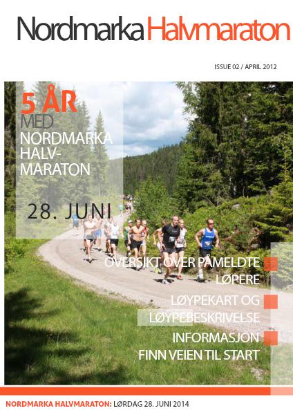 Nordmarka Halvmaraton 1