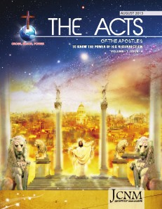 THE ACTS August 2013 English