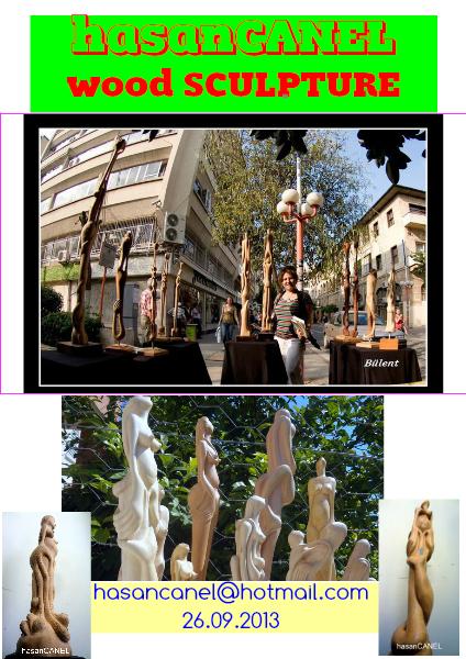 20.09.2013-hasanCANEL WOOD SCULPTURE EYLÜL 2013