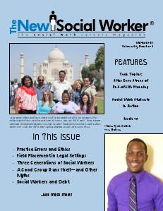 The New Social Worker Vol. 20, No. 1, Winter 2013