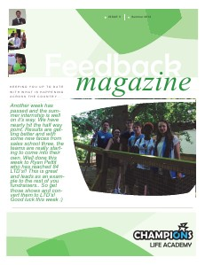 Feedback Magazine 5 - Summer 2013