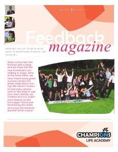 Feedback Magazine 2 - Summer 2013